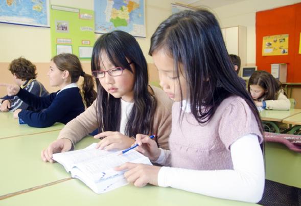 歴史や文化を学ぶ学校の授業